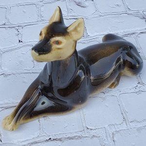 Brazilian ceramic dog  figurine